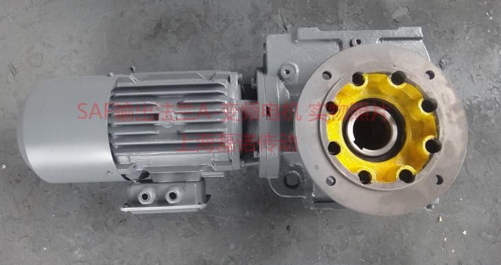SAF减速机配输出法兰A-变频电机实物照片