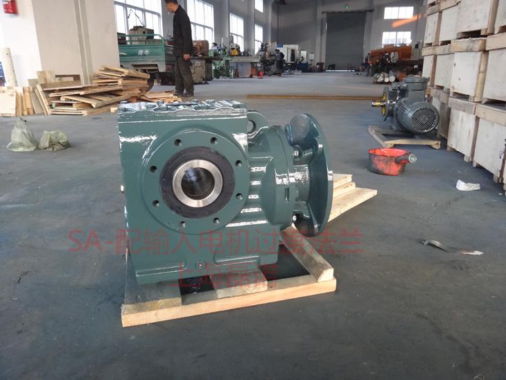 SA系列减速机配电机过度法兰